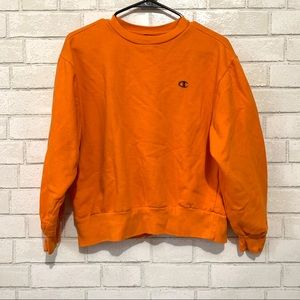 Champion Cropped Crewneck Sweater